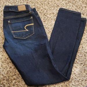 🔥 4/$25 American Eagle Skinny Jeans Sz 2